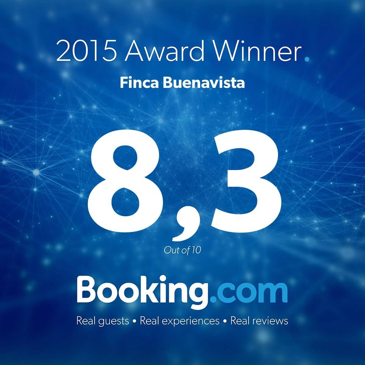 2015 Award Winner Booking.com